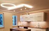 sufit podwieszany LED